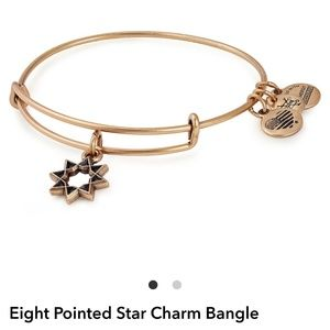 """Alex and Ani """"Eight pointed star"""" bracelet"""